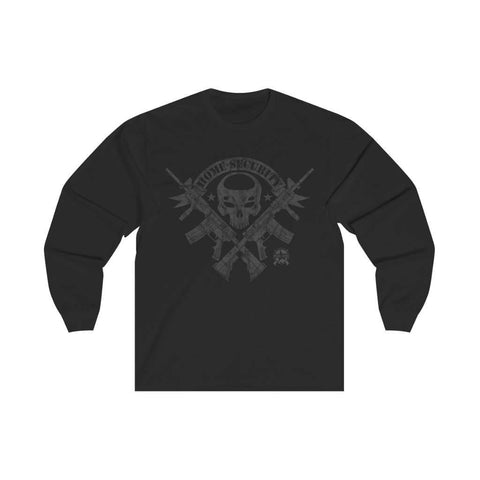 Image of Home Security - 2nd Amendment Long Sleeve T-Shirt