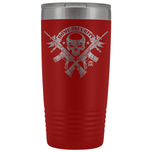 Home Security - Stainless Etched Tumbler