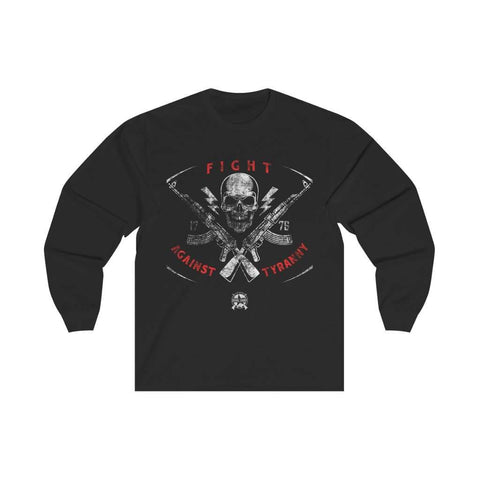 Image of Fight Against Tyranny Distressed Long Sleeve T-Shirt
