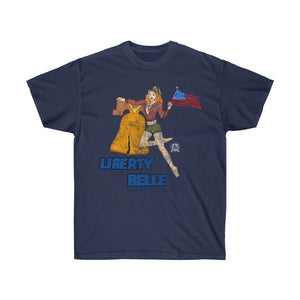 Liberty Belle - Retro WWII b-17 Airplane Nose Art