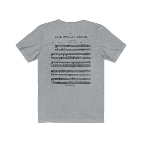 Image of 24 HOURS ONLY: Limited Edition Star Spangled Banner Premium Jersey T-Shirt