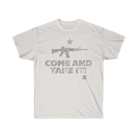 Image of Come And Take It Distressed Style AR-15 T-Shirt