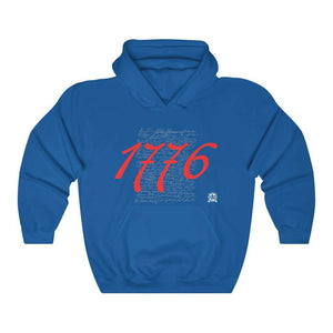 1776 Signers of the Declaration of Independence Signatures Hoodie
