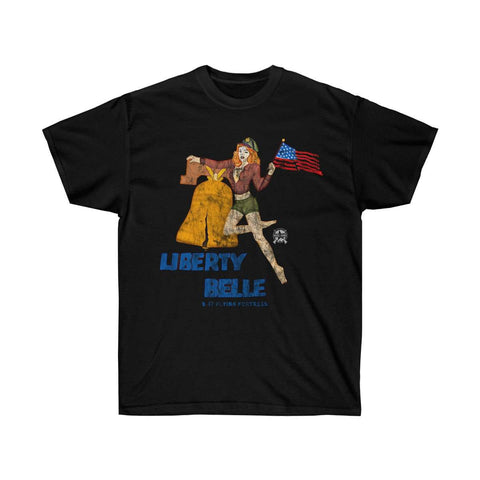 Image of Liberty Belle - Retro WWII b-17 Airplane Nose Art