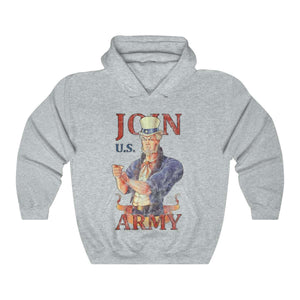 Join U.S. Army Vintage Distressed Hoodie