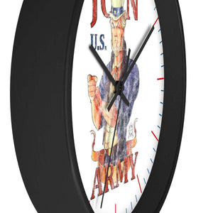 Join U.S. Army Vintage Style Wall clock