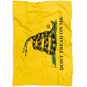 Gadsden Flag Ultra Soft Premium Fleece Blanket