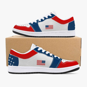 "The ""American"" Premium Leather Sneakers - Bring Ammo Exclusive Collection!"