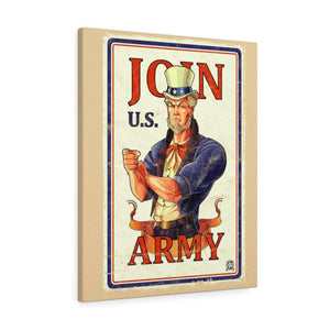 Join U.S. Army Vintage Canvas Print