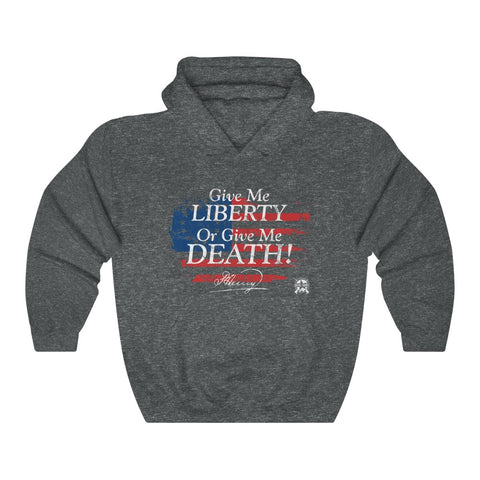 Image of Give Me Liberty or Give Me Death Patrick Henry Signature Hoodie