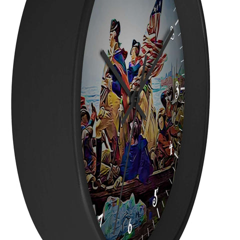 Image of 1776 Washington Wooden Wall clock