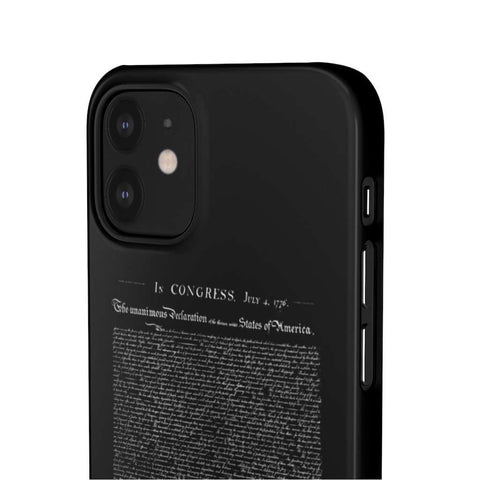Image of Declaration of Independence Snap Phone Case