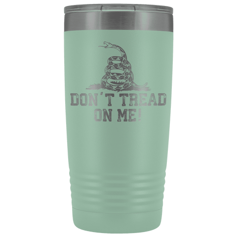 Image of Don't Tread On Me Stainless Steel Tumbler