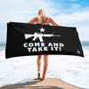 Come And Take It Luxury Beach / Pool Towel