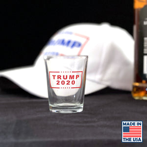 Trump 2020 Shot Glasses - Made In America!