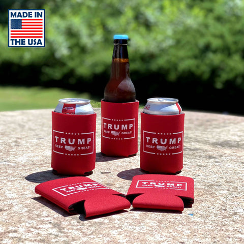 Image of Trump Keep Great Foam Collapsible Coolies - Made In America!