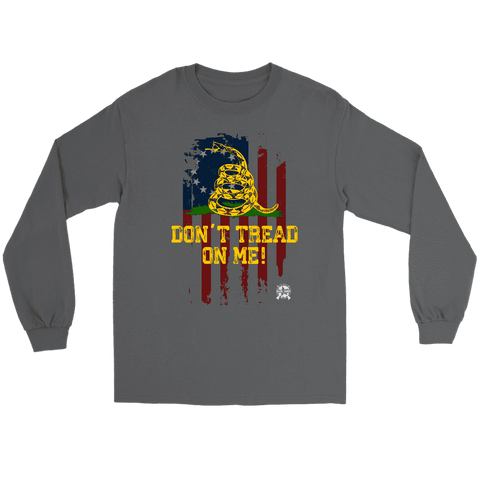 Image of Don't Tread On Me Patriotic Long Sleeve T-Shirt