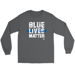 Blue Lives Matter Long Sleeve Premium Jersey T-Shirt