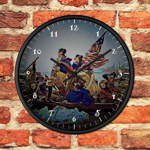 1776 Washington Wooden Wall clock