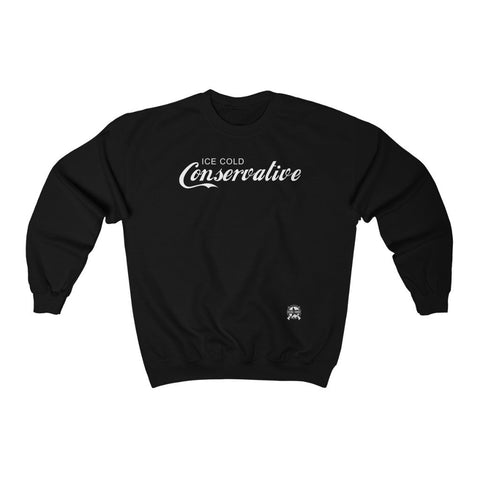 Image of Ice Cold Conservative Premium Sweatshirt Parody