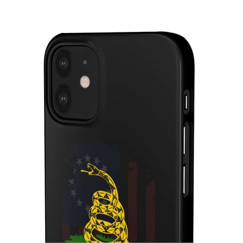 Image of Don't Tread On Me Snap Phone Case