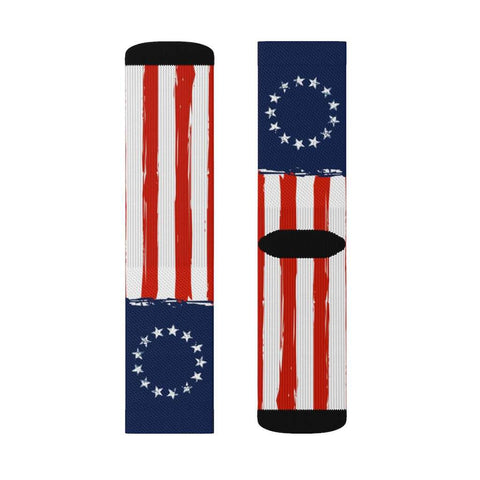 Image of Betsy Ross Flag Socks