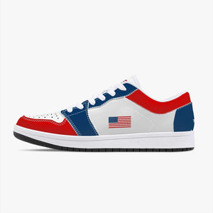 "The ""Americana"" Premium Leather Sneakers - Bring Ammo Exclusive Collection!"