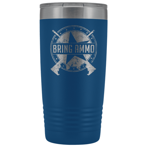Image of Bring Ammo Official Stainless Etched Tumbler