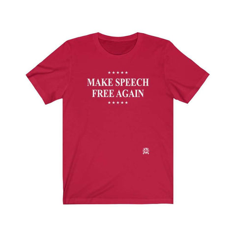 Image of Make Speech Free Again Premium Jersey T-Shirt