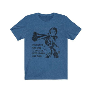 Opinions Are Like Assholes... Dirty Harry Premium Jersey T-Shirt