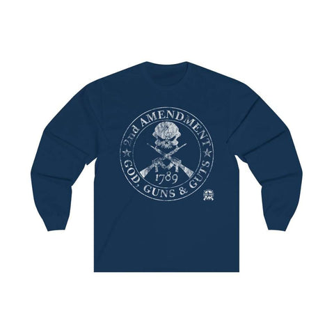 Image of 2nd Amendment - God, Guns & Guts Long Sleeve T-Shirt