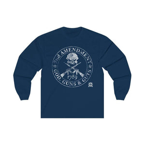 2nd Amendment - God, Guns & Guts Long Sleeve T-Shirt