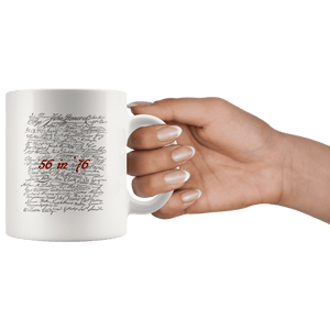 56 in '76 Signers of the Declaration of Independence Coffee Mug