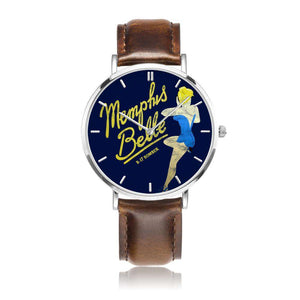 Memphis Belle - Retro WWII B-17 Bomber Pinup Nose Art Watch