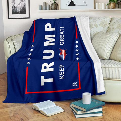 Image of Trump Keep Great Ultra Soft Premium Micro Fleece Blanket