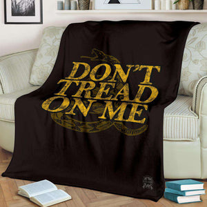 Don't Tread on Me Ultra Soft Micro Fleece Blanket