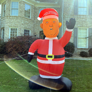 8 Foot Tall President Trump Santa -  Inflatable Make Christmas Great Again Trump Santa! 🎁 ALMOST SOLD OUT 🎁