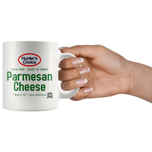 Hunter's Choice Parmesan Cheese 100% Pure, Ready to Smoke