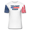 Trump 2020 Premium Stars & Stripes T-Shirt - white