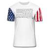 2nd Amendment Premium Stars & Stripes T-Shirt - white