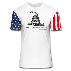 Don't Tread On Me Premium Stars & Stripes T-Shirt - white