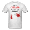 Went to Chicago All I Got Was Shot Vote Republican T-Shirt - light heather gray