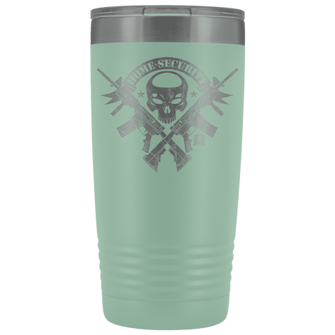 Image of Home Security - Stainless Etched Tumbler