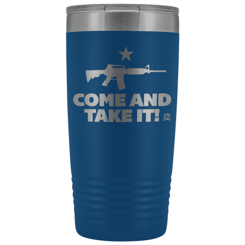 Image of Come and Take It Stainless Etched Tumbler