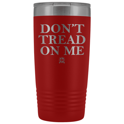 Image of Don't Tread On Me Stainless Etched Tumbler