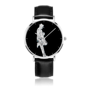 Clint Eastwood Leather Collectors Watch