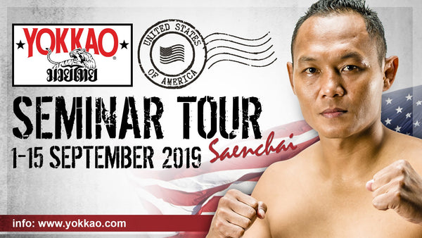 YOKKAO Seminar Returns to USA For Tour in September!
