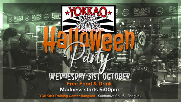 YOKKAO Holds First-Ever Halloween Party