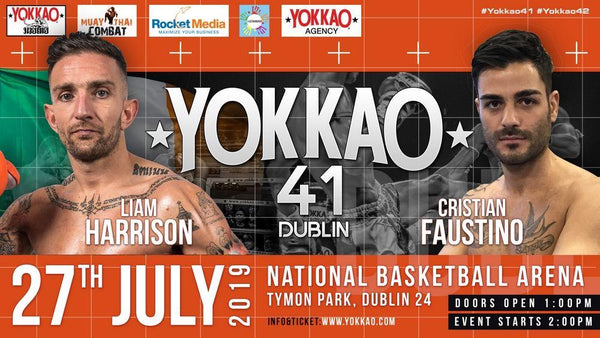 Harrison vs Faustino to Headline YOKKAO 41