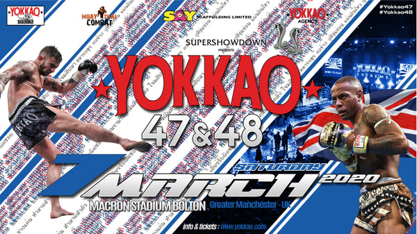 YOKKAO 47-48 Full Fight Card Confirmed